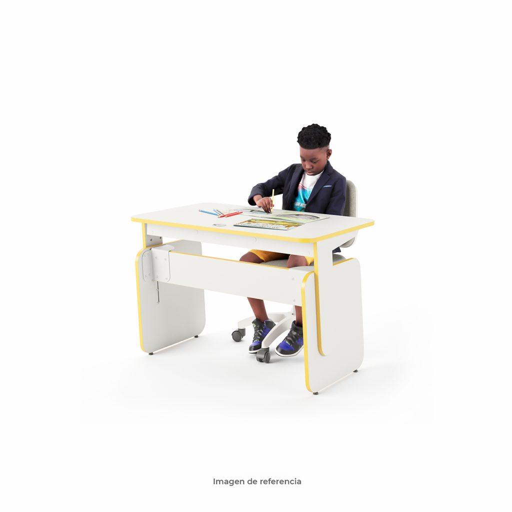 Escritorio Eureka Amarillo para niños | Tienda Mepal
