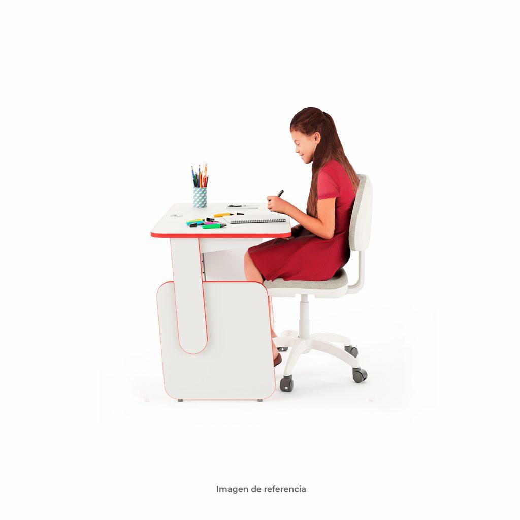 Escritorio Eureka Rosa para niños | Tienda Mepal