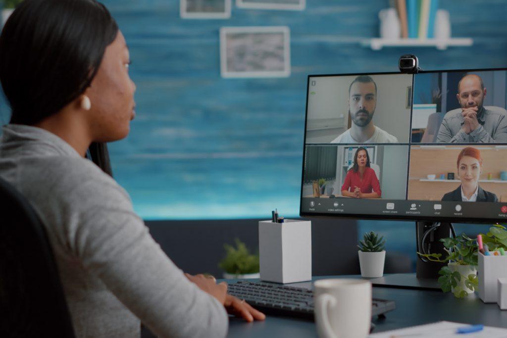 Videoconferencias-oficina